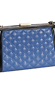 L.WEST Women's The Grid Color Matching Evening Bag