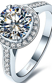 DamenSchmuck Sterling Silber / Platiert Modisch / Vintage Hochzeit 1 Stück,5 / 6 / 7 / 8 / 9 / 9½ / 4