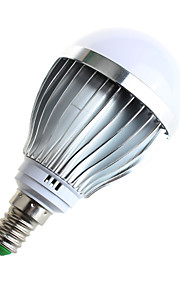 5W E14 Ampoules Globe LED A60(A19) 10 SMD 5730 480lumens lm Blanc Chaud / Blanc Naturel Décorative AC 100-240 V 1 pièce