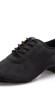 Sapatos de Dança(Preto) -Masculino-Não Personalizável-Latina / Moderna