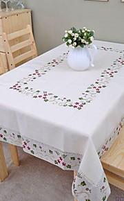 geborduurd tafelkleed katoen tafelkleed linnen tafelkleed klassieke 140x200cm (56 * 80inch)