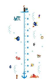 애니멀 / 크리스마스 / 카툰 / 워드&인용구(부호) / 로맨스 / 패션 / 휴일 / 풍경 / 모양 / 판타지 벽 스티커 플레인 월스티커,PVC 125cm x 68cm( 49in x 27in )