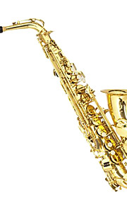 E Alto Saxophone Drop Saxophone Wind Instrument Hand Full Of Flowers