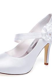 Chaussures de mariage-Blanc-Mariage / Habillé / Soirée & Evénement-Talons / A Plateau-Talons-Homme