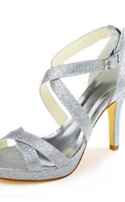 Chaussures de mariage-Argent-Mariage / Habillé / Soirée & Evénement-Talons / A Plateau-Talons-Homme