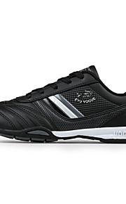 Черный / Белый-Мужская обувь-Для офиса / На каждый день / Для занятий спортом-Полотно / Микроволокно-Кроссовки