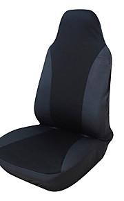 ajuste universal para el coche, camión, SUV o camioneta cubierta de asiento de poliéster 1 piezas negro