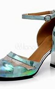 Sapatos de Dança(Verde) -Feminino-Não Personalizável-Latina
