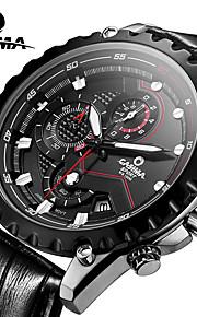 CASIMA Luxury Brand Watches Men's Fashion Sport Quartz Wrist Watch Chronograph Stainless Steel Waterproof 100M #8203-SL7