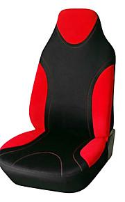 ajuste universal para el coche, camión, SUV o camioneta cubierta de asiento de poliéster de color rojo 1 piezas