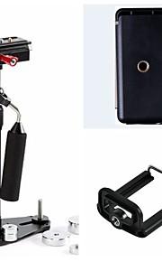 poppel nye kulfiber s-40 mini stativ + telefon clamp + ipad