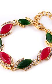 Opal Pigeon Blood Red Clasp Multicolored Gems Bracelet Wedding