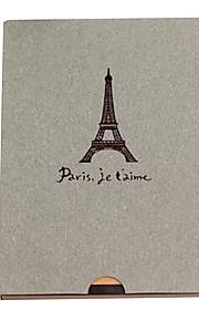 grå Eiffeltårnet design DIY fotoalbum