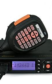 LT-725UV Walkie-talkie H:25W M:10W L:5W 199 Channels 400-470MHz / 136-174MHz none 5km-10kmFM-radio / Programmeerbaar via pc-software /