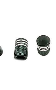 4 stuks kleur aluminium automotive producten ventiel stofkap beschermkap