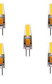 4W G4 LED à Double Broches MR11 4 COB 460 lm Blanc Chaud / Blanc Froid Décorative / Etanches DC 12 / AC 12 / AC 24 / DC 24 V 5 pièces