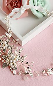 Women's Crystal / Alloy / Imitation Pearl Headpiece-Wedding / Special Occasion Headbands 1 Piece