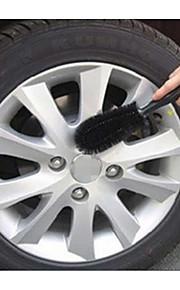 productos de limpieza escobillas de vehículos cabeza del cepillo de limpieza cepillo de campana de acero del neumático del neumático del