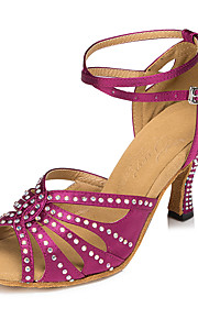 Для женщин-Сатин / Бархатистая отделка-Не персонализируемая(Фиолетовый) -Сальса