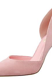 Homme-Habillé / Soirée & Evénement-Noir / Rose / Rouge / Gris / Kaki-Talon Aiguille-Talons / Bout Pointu / Confort-Chaussures à Talons-