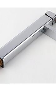 모던 주방,욕조수전(Centerset) 바닥 스탠딩 with  도자기 발브 싱글 핸들 하나의 구멍 for  크롬 , 욕실 싱크 수도꼭지