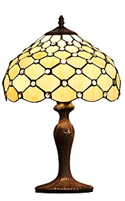 Tiffany Transparent Glass Beads Bedlight