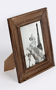 "Picture Frames Traditional / Retro Rectangular,Wood 5"" x 7"""