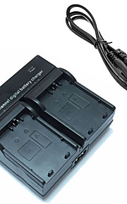 LPE5 digitale camera batterij dual oplader voor canon eos 500d 1000d 450d