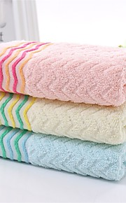 """1PC Full Cotton Hand Towel 13"""" by 30"""" Curve Pattern Super Soft"""