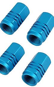 4 stuks gekleurde kleppendeksel autoband ventieldopje