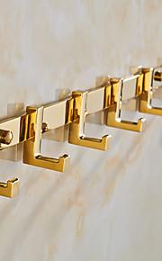 Kleiderhaken / Badezimmer Gadget / Gold / Wandmontage /40cm*3.5cm*4.5cm(15.7*1.4*1.8inch) /Messing / Zinklegierung /Neoklassizistisch /