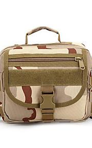 8 L Bolsa de hombro Acampada y Senderismo Al Aire Libre Impermeable / Multifuncional Camuflaje Nilón
