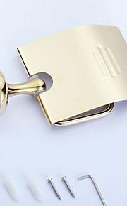 Toalettpappershållare / Polerad mässing / Väggmonterad /20*10*20 /Mässing /Antik /20 10 0.442