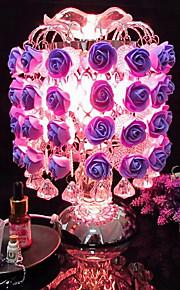 aromatisk rose aromaterapi æteriske olier duft lampe induktion lampe