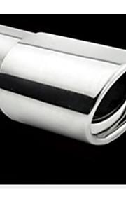 7610 bil hale hale pipe pipe bil udstødningsrøret lydpotte modificerede rustfrit stål udstødningsrør 12-3a \ 930