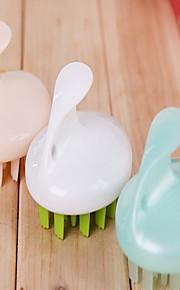 badrum massage borste slumpmässig färg