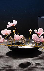 Women's Crystal / Brass / Imitation Pearl / Fabric Headpiece-Wedding / Special Occasion Headbands 1 Piece