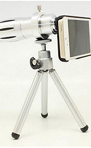Apple 4/4S 5/5S 12 times gm telephoto zoom telescope The outer photographic camera Len