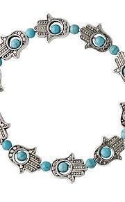 Bracelet Strand Bracelet Alloy Circle Fashion Wedding Jewelry Gift Green,1pc