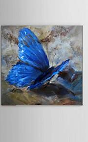 Dipinta a mano Astratto / Animali / Fantasia Dipinti ad olio,Modern / Pastorale / Stile europeo Un Pannello Tela Hang-Dipinto ad olio For