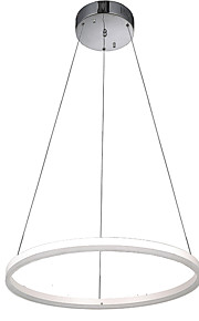 Newest LED Acrylic Pendant Lighting Ceiling Chandeliers Lights for Hotel Bar with Round Ring 16W CE FCC ROHS