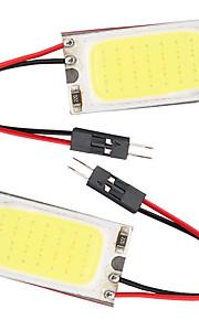 10st t10 cob 21 smd LED-licht paneel auto auto interieur lezing kaart parking gloeilamp BA9S Festoen Dome (12V)