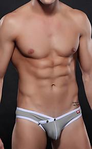 Men's Nylon / Polyester Sexy Breathable Briefs Underwear