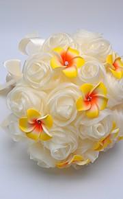 """Bouquets de Noiva Redondo Rosas Buquês Casamento Espuma 7.48""""(Aprox.19cm)"""