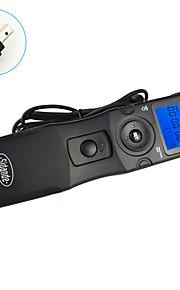 sidande® 7105 lcd tid bortfalder Intervalometer fjernbetjening timer udløserknappen til nikon D80 / D70s