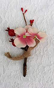 Bouquet sposa Forma libera Rose Decorazioni Matrimonio Poliestere 1 cm ca.