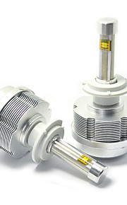 1 Kit Fanless Design 30W LED Headlight Kit H7 Auto H7 LED Headlight Kit H7 Low Beam LED Headlight Kit