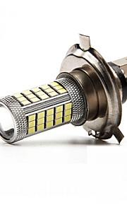 2PCS  H4/H11 63SMD 2835  Light Bulb Lamp Headlamp/Fog Light  White ,Red,Glary Blue  DC12V