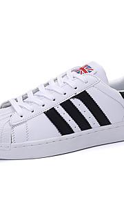 Черный / Синий / Белый-Мужской-Для прогулок / На каждый день / Для занятий спортом-Микроволокно-На плоской подошве-Удобная обувь-Кеды