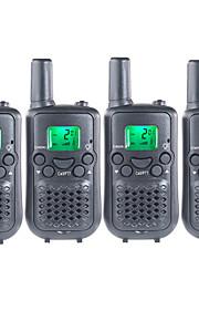 T899462C2P Walkie-talkie 0.5W 22 Channels 400-470MHz AAA alkaline battery 3km-5kmVOX / achtergrondverlichting / Encryptie / Waarschuwing